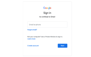 Reset Change Gmail Password